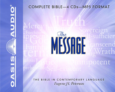 Image of The Message Audio Bible: MP3 other