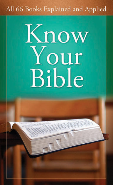 Image of Know Your Bible other