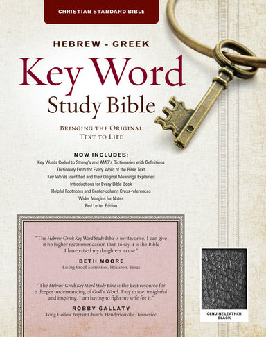 Image of The Hebrew-Greek Key Word Study Bible other