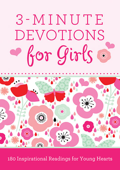 Image of 3 Minute Devotions For Girls other