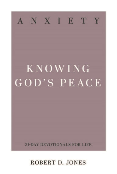 Image of Anxiety: Knowing God's Peace other