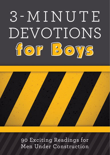 Image of 3 Minute Devotions for Boys other