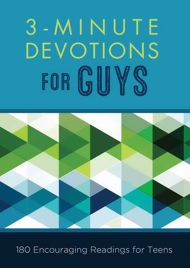 Image of 3 Minute Devotions For Guys other