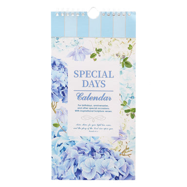 Image of Hydrangea Special Days Calendar - Isaiah 60:1 other