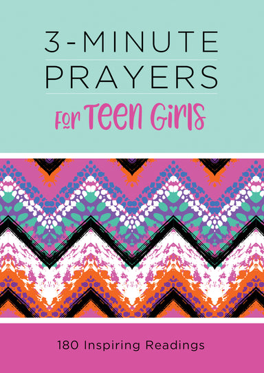 Image of 3-Minute Prayers for Teen Girls other