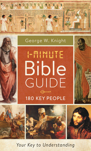 Image of 1-Minute Bible Guide: 180 Key People other