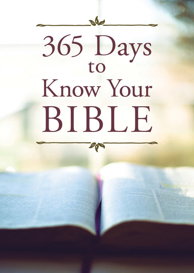 Image of 365 Days to Know Your Bible other