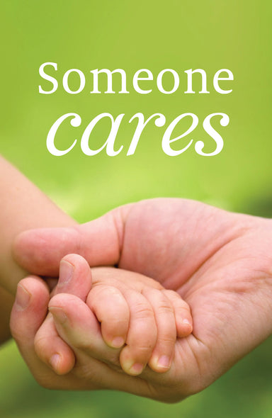 Image of Someone Cares Tracts - Pack Of 25 other