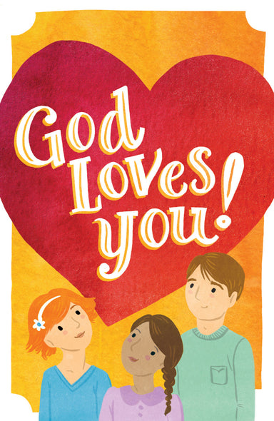 Image of God Loves You Tracts - Pack Of 25 other