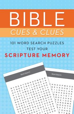 Image of Bible Cues and Clues: 101 Word Search Puzzles Test Your Scripture Memory other