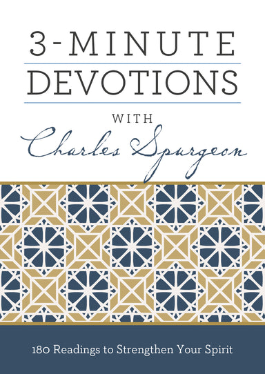 Image of 3 Minute Devotions with Charles Spurgeon other