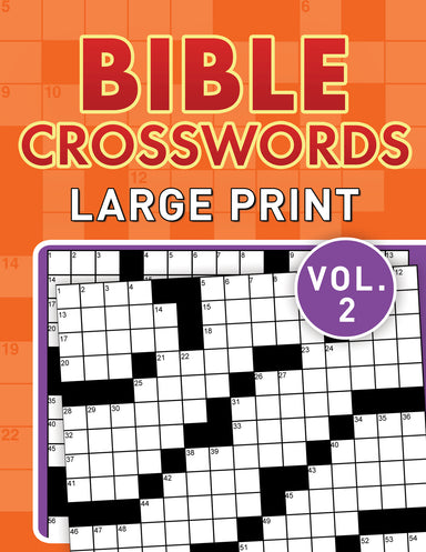 Image of Bible Crosswords Large Print Vol. 2 other