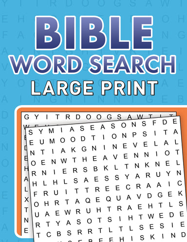 Image of Bible Word Searches Large Print other