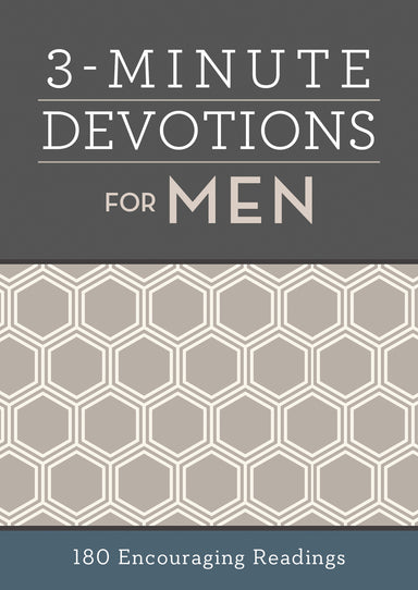 Image of 3 Minute Devotions for Men other