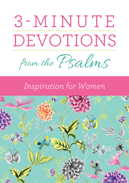Image of 3-Minute Devotions from the Psalms: Inspiration for Women other