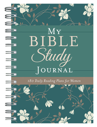 Image of My Bible Study Journal: 180 Encouraging Bible Readings for Women other