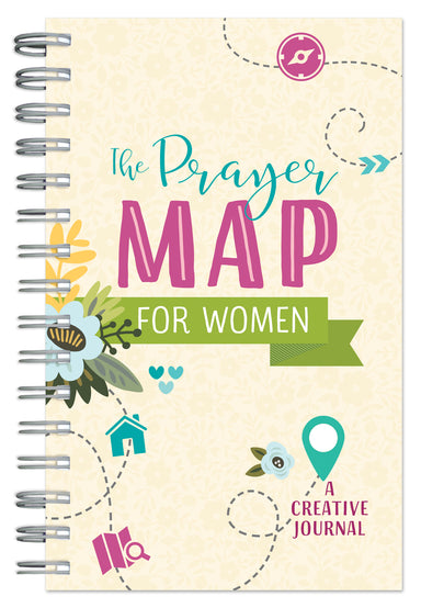 Image of The Prayer Map for Women: A Creative Journal other