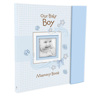 "Image of ""Our Baby Boy"" Memory Book other"