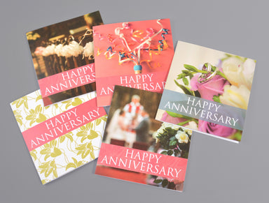 Image of Weddings Anniversary Card (pack of 20) other
