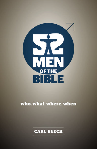 Image of 52 Men of the Bible other