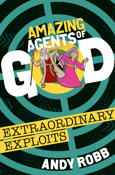 Image of Amazing Agents of God Extraordinary Exploits other