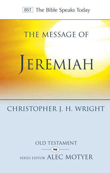 Image of The Message of Jeremiah other