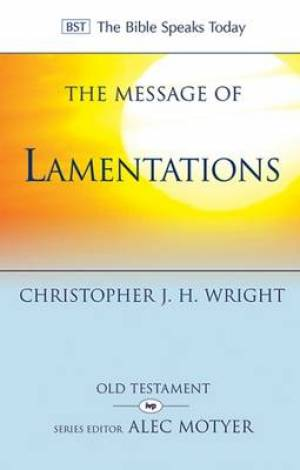 Image of The Message of Lamentations other