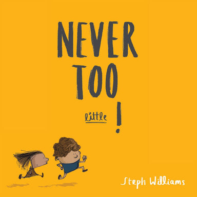 Image of Never Too Little! other