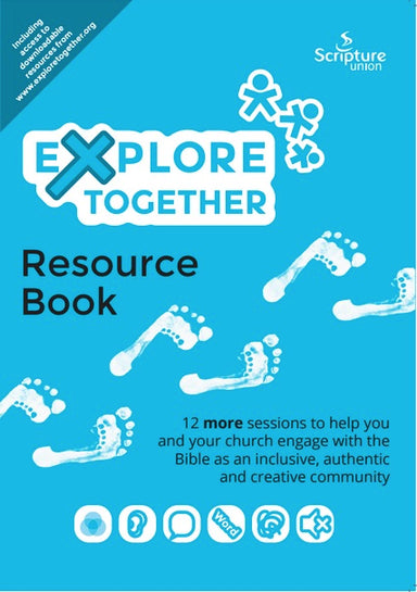 Image of Explore Together - Blue Resource Book other