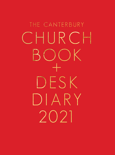 Image of The Canterbury Church Book & Desk Diary 2021 A5 Personal Organiser Edition other