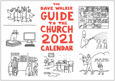 Image of The Dave Walker Guide to the Church 2021 Calendar other