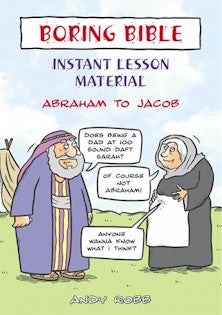 Image of Boring Bible Instant Lesson Material: Abraham to Jacob other