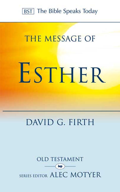 Image of The Message of Esther other