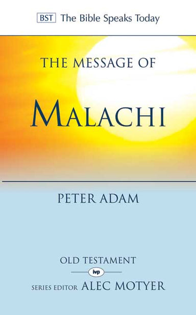 Image of The Message of Malachi other