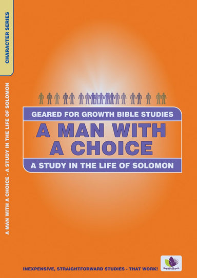 Image of Man With a Choice: Study in the Life of Solomon other