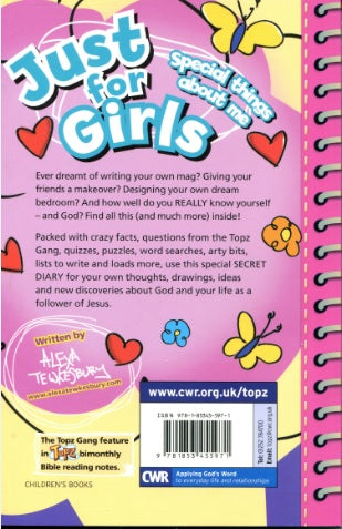 Image of Topz Secret Diaries Just For Girls other