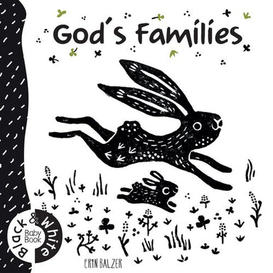 Image of God's Families: Black And White Baby Book other