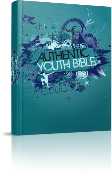 Image of ERV Youth Bible, Green, Hardback, Teal, Anglicised, Easy to Read Version, Bible study material, Colouring pages other