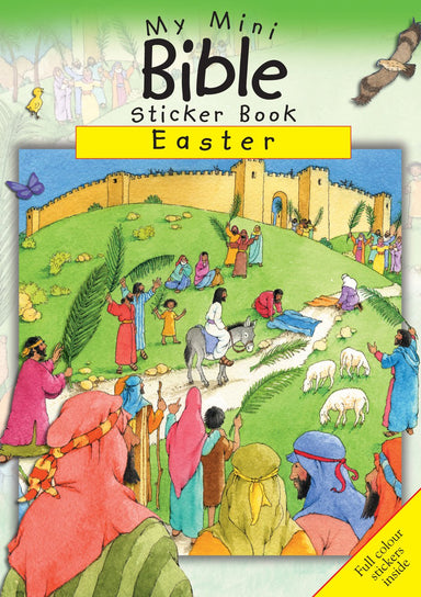 Image of My Mini Bible Sticker Book: Easter other