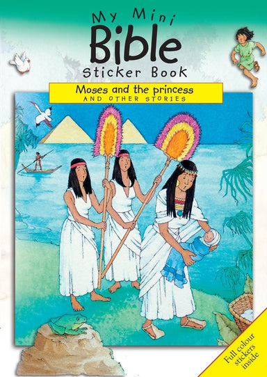 Image of My Mini Bible Sticker Books: Moses and the Princess and Other Stories other