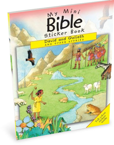 Image of My Mini Bible Sticker Book: David and Goliath and Other Stories other