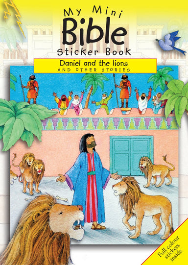 Image of My Mini Bible Sticker Book: Daniel and the Lions other