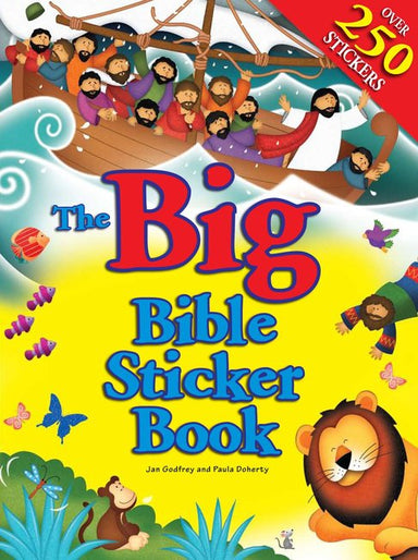 Image of The Big Bible Sticker Book other