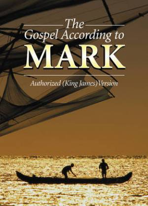 Image of KJV The Gospel According to Mark Paperback Pocket Outreach Edition Reading Plan Large Print Text other