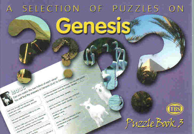 Image of Puzzles on Genesis Puzzle Book other
