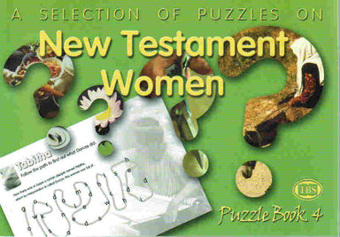Image of Puzzles on New Testament Women Puzzles Book other