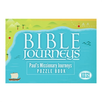 Image of Bible Journeys: Paul's Missionary Puzzle Book other