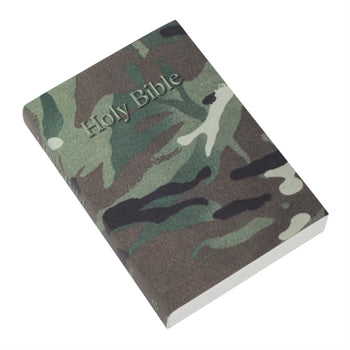 Image of KJV Pocket Reference Bible, Camouflage other