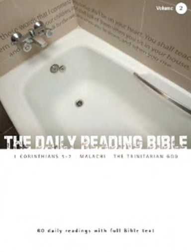 Image of The Daily Reading Bible Vol 2 other