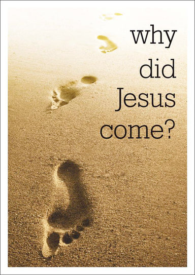 Image of Why Did Jesus Come? other